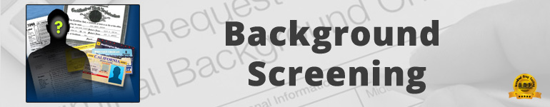 Background Check Tests