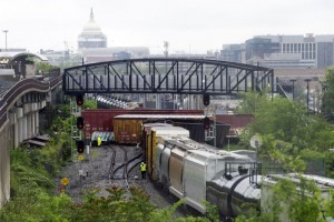 CSX Freight Train Derails