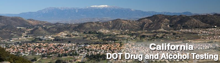 DOT Drug Testing California